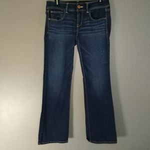 American Eagle Distressed Boot Jeans Size 8